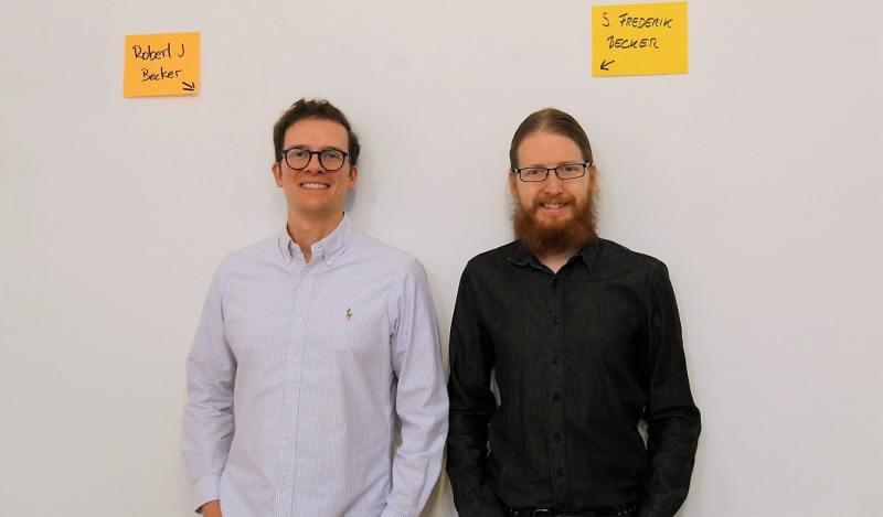 Zuständige der Newwork Academy Robert und Robert